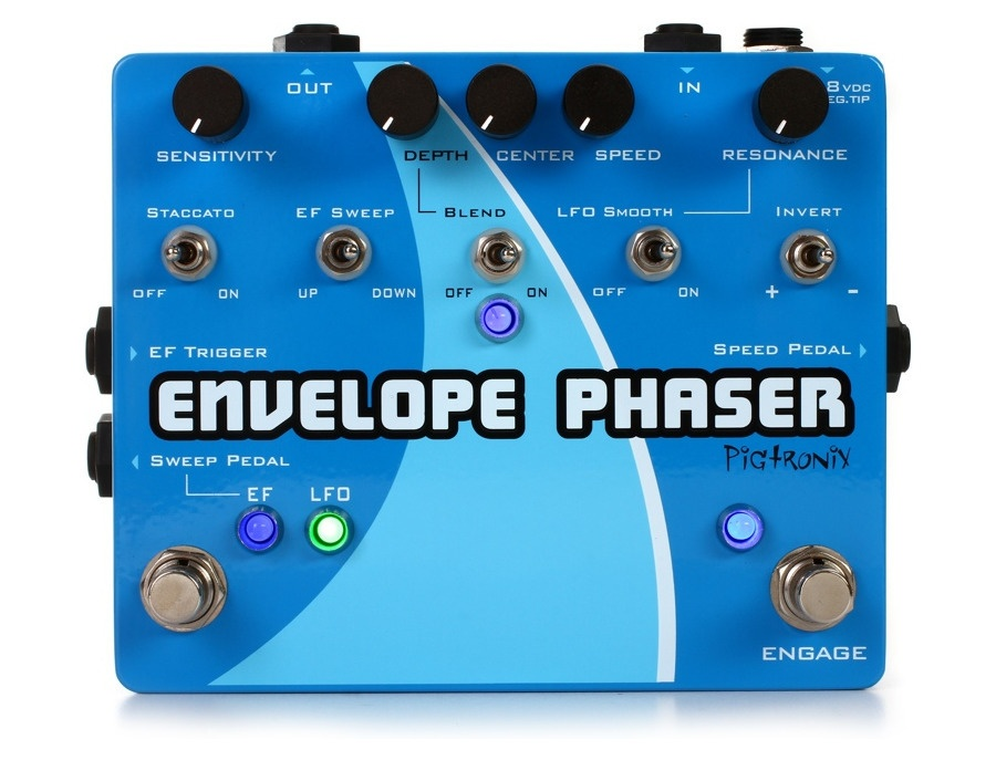Pigtronix ep2 envelope and rotary phaser pedal xl