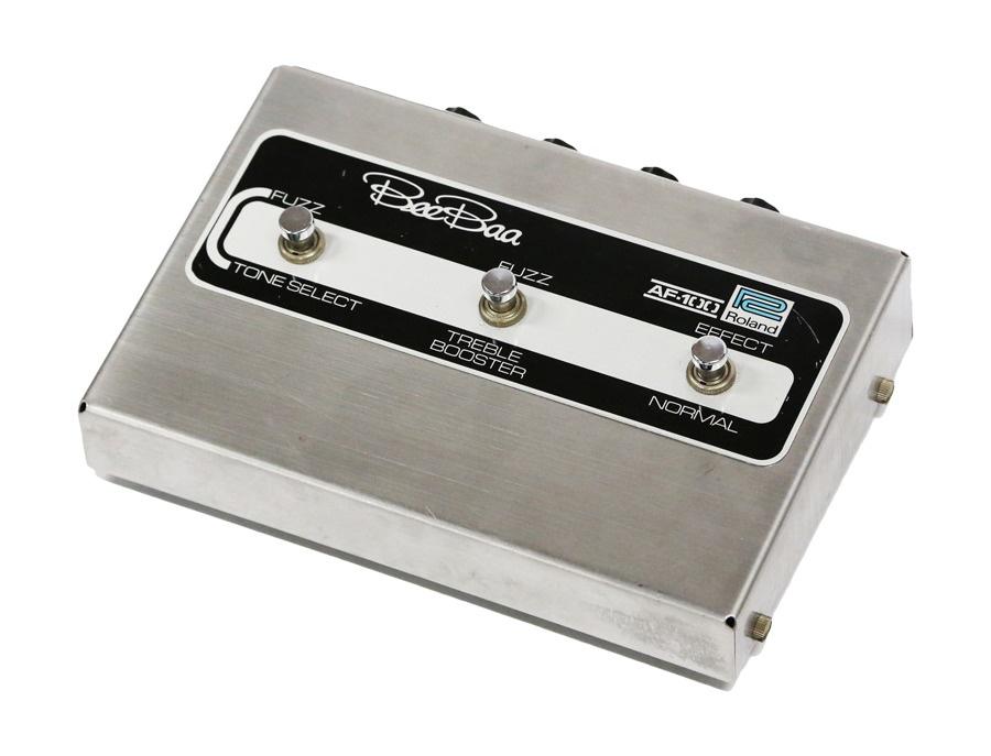 Roland af 100 beebaa fuzz pedal xl