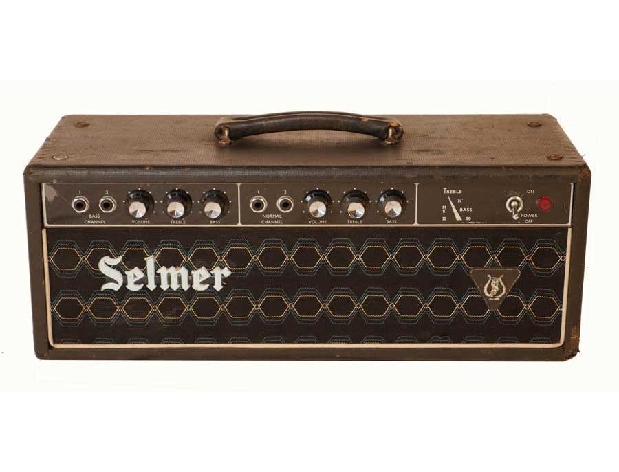 Selmer Treble and Bass Amp Head