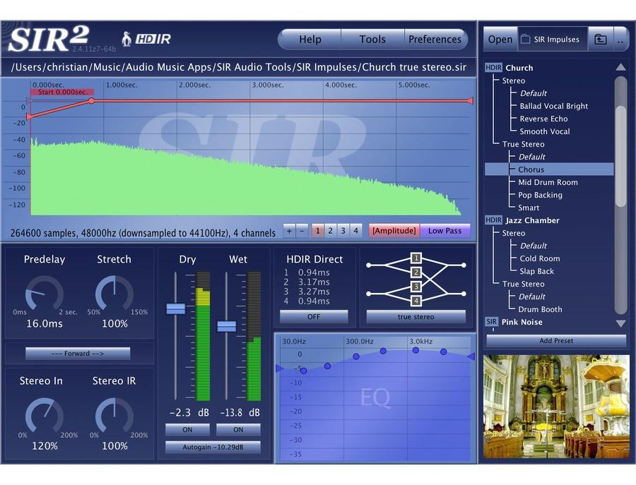 SIR Audio Tools SIR 2