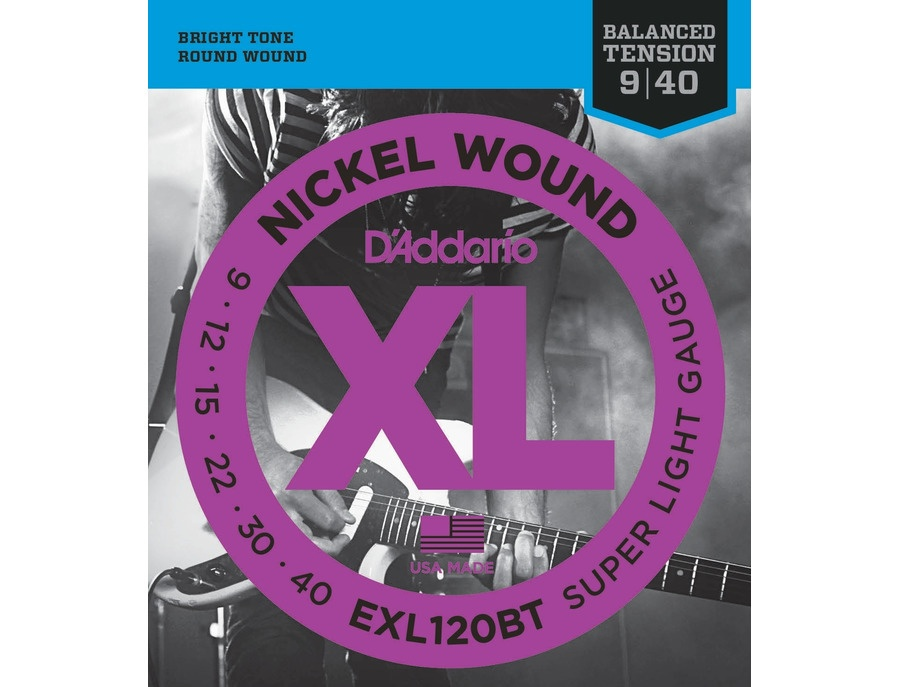 D'Addario EXL120 BT Super Light Electric Guitar Strings