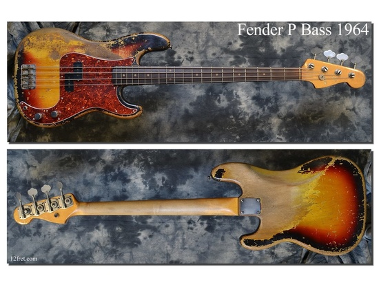 Fender American Vintage '64 Precision Bass
