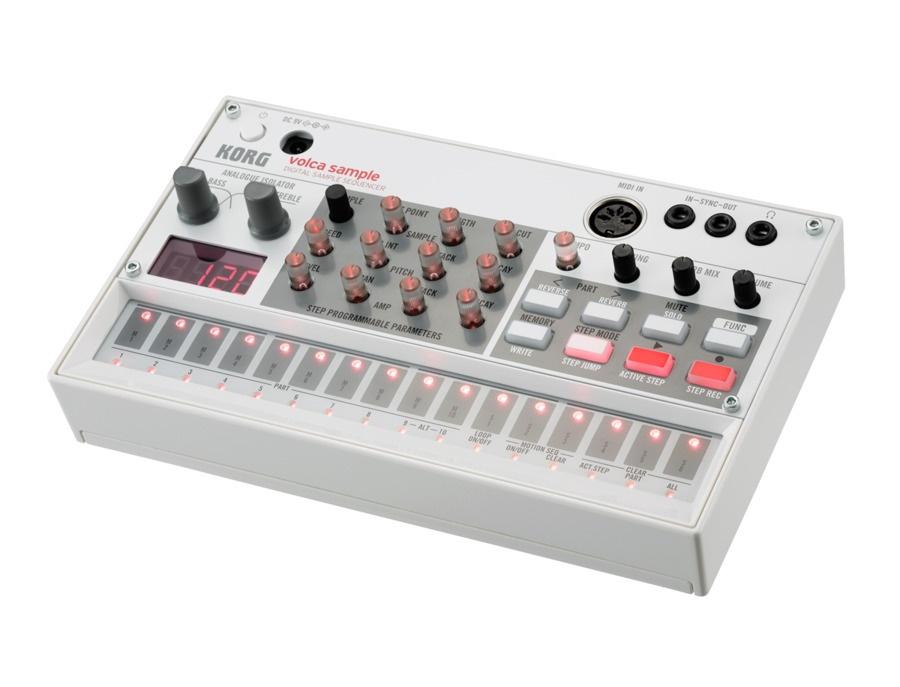 Korg volca sample digital sample sequencer xl