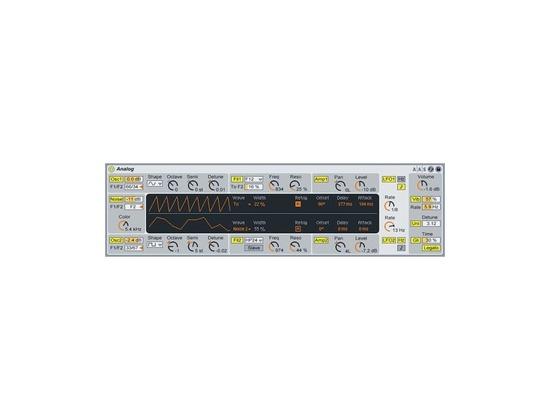 Ableton Analog Software Synthesizer