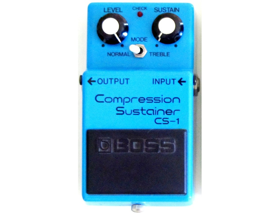 Boss cs 1 compression sustainer pedal xl