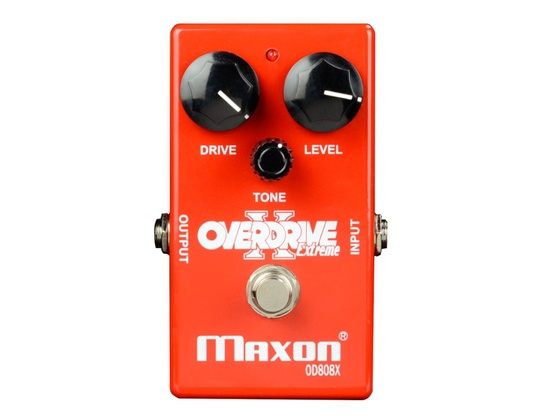 Maxon OD808X Extreme Overdrive Pedal