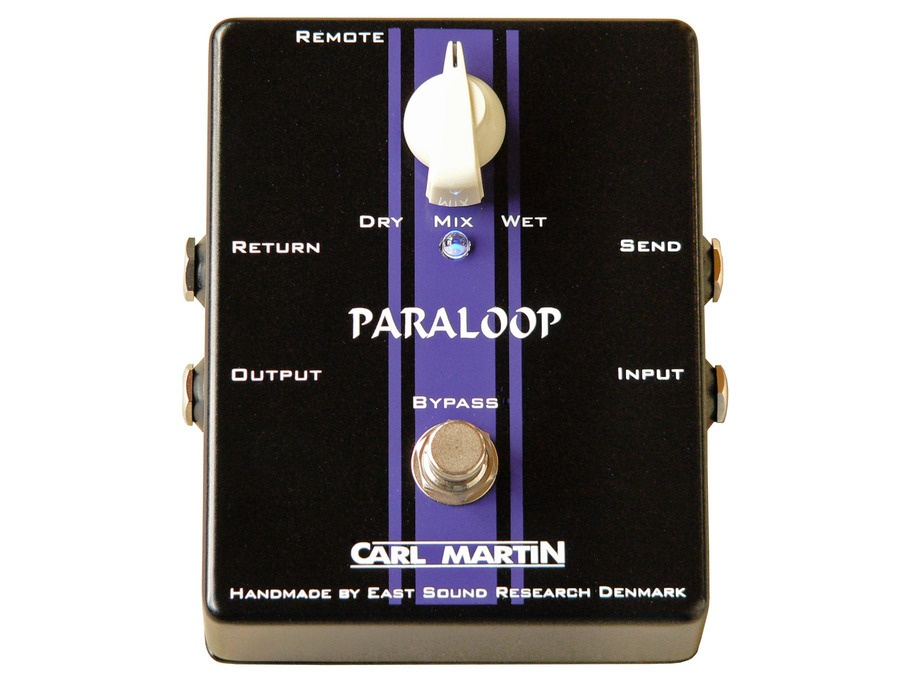 carl martin paraloop guitar effects pedal reviews prices equipboard. Black Bedroom Furniture Sets. Home Design Ideas