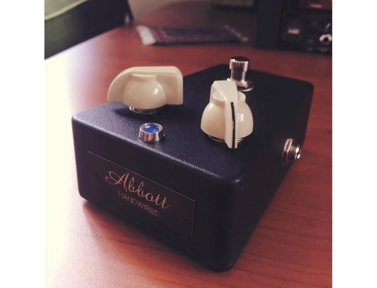 Abbott's Music Handwired Fuzz Pedal
