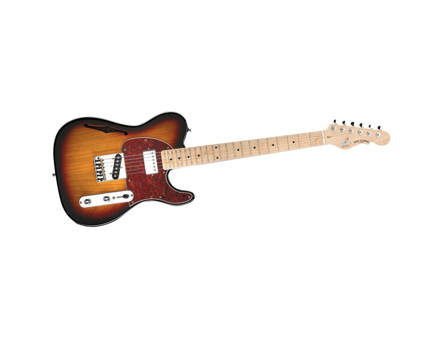 G&L ASAT Classic Bluesboy Semi-Hollow Electric Guitar