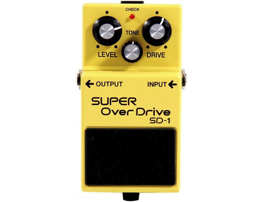 Boss sd 1 super overdrive xl