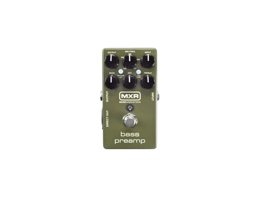 MXR M81 Bass Preamp Bass Pedal
