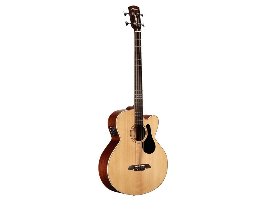 Alvarez ab60ce electric acoustic bass guitar xl