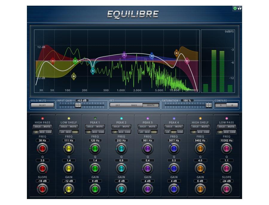 AudioTeknikk Equilibre