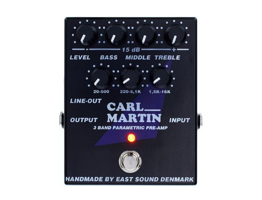 Carl Martin 3 Band Parametric Pre-Amp