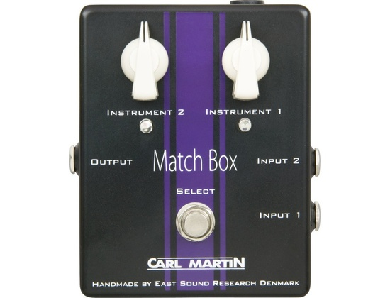 Carl Martin Match Box Line Selector
