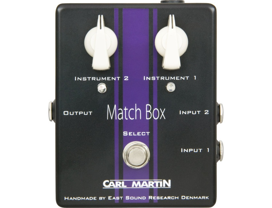 Carl Martin Match Box Line Selector