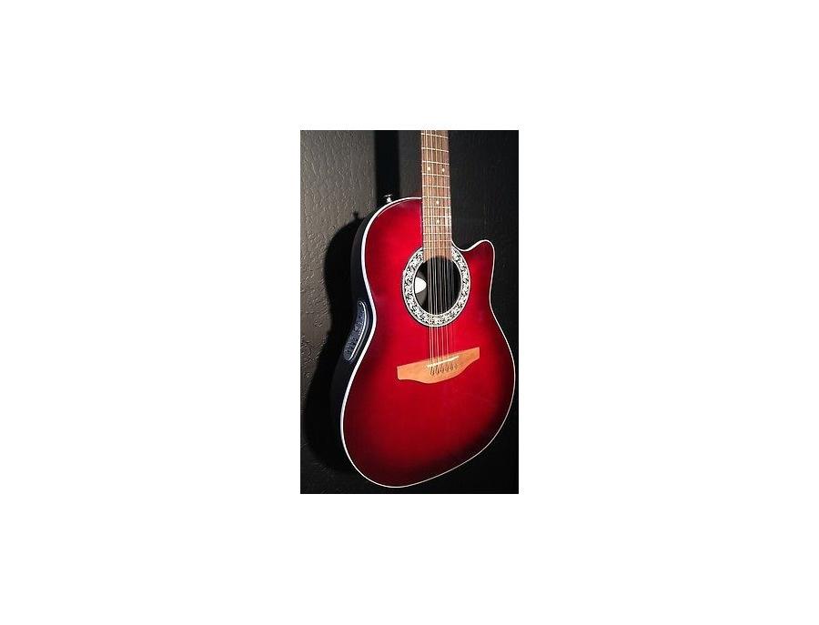 ovation balladeer 1751 12 string guitar reviews prices equipboard. Black Bedroom Furniture Sets. Home Design Ideas