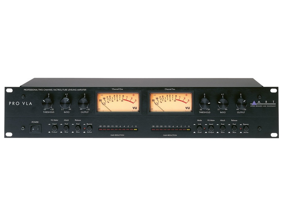 Pro VLA II Two Channel Vactrol-based Compressor
