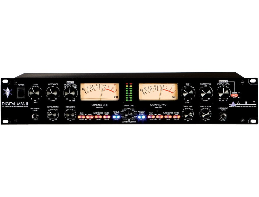 ART Pro MPA II Studio 2-Channel Tube Preamp