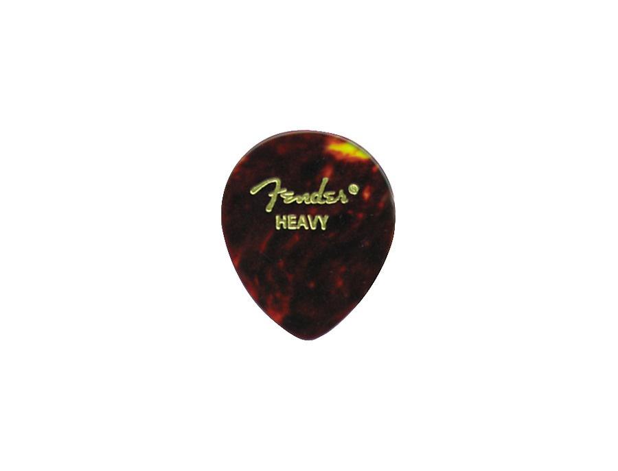 Fender Teardrop Pick : Fender teardrop picks heavy reviews prices equipboard