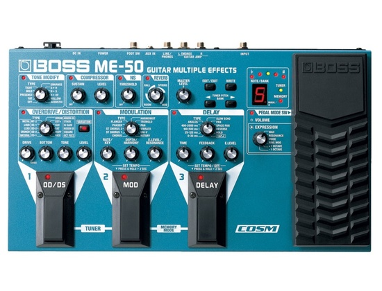 Boss ME-50 Guitar Multi Effects Pedal
