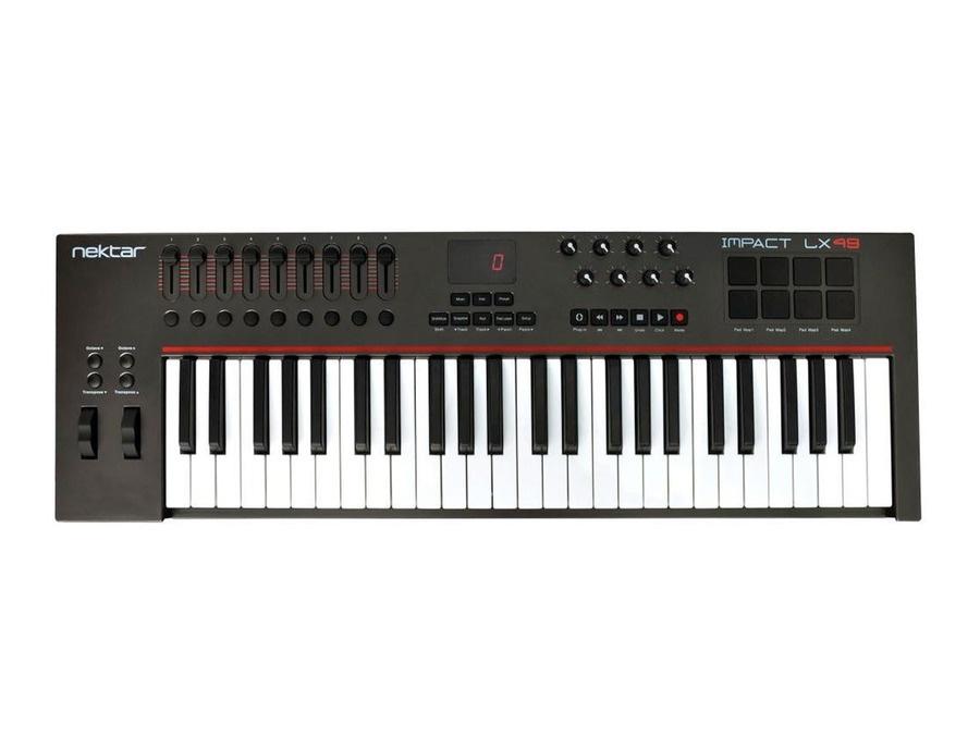 Nektar Impact LX49 USB Keyboard Controller