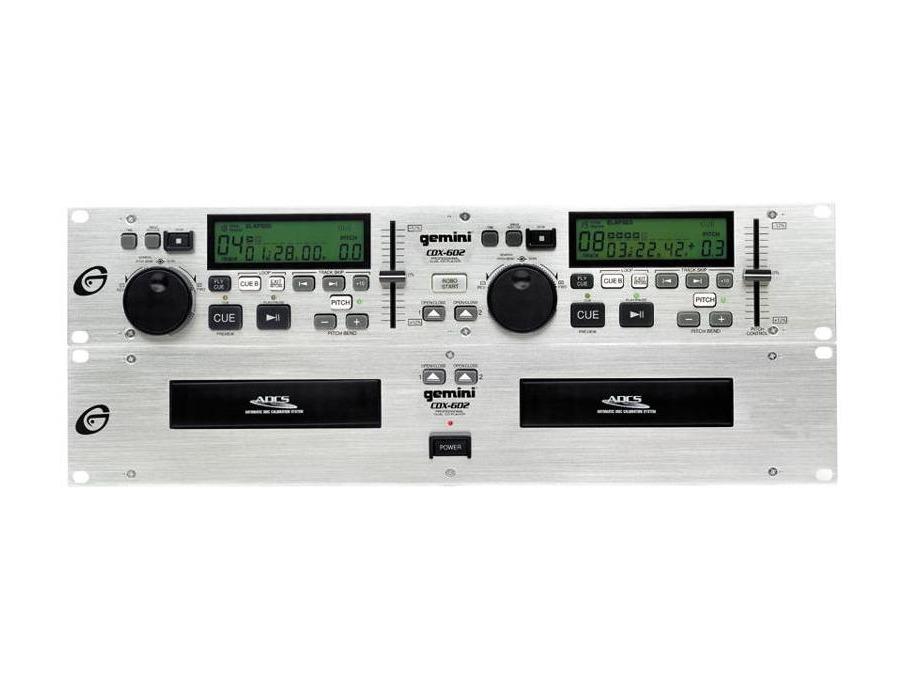 Gemini cdx 602 dual cd player xl