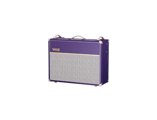 VOX AC30 CC2 W/ Purple Vinyl Wrap & Tygon Grille