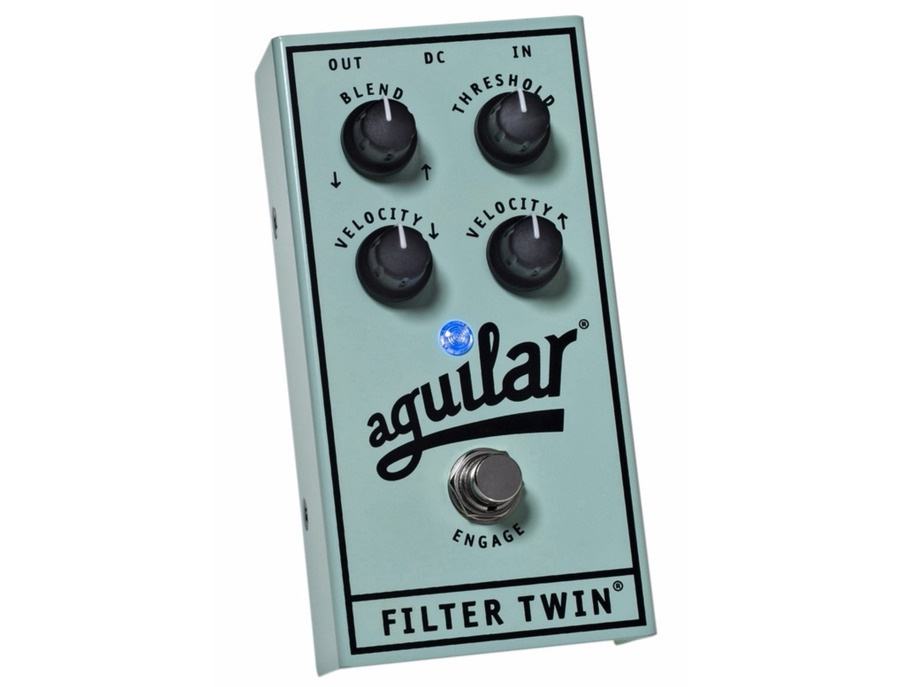 Aguilar filter twin dual envelope filter effects bass pedal xl