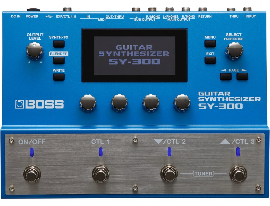 Boss sy 300 guitar synthesizer xl