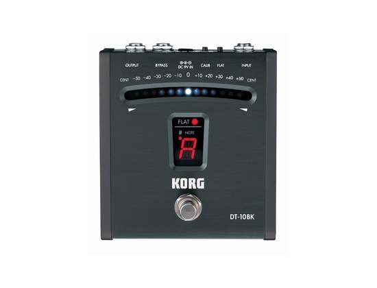 Korg DT-10BK Digital Foot Pedal Tuner