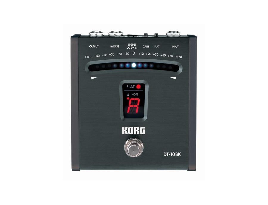 Korg DT-10BK Digital Foot Pedal Tuner