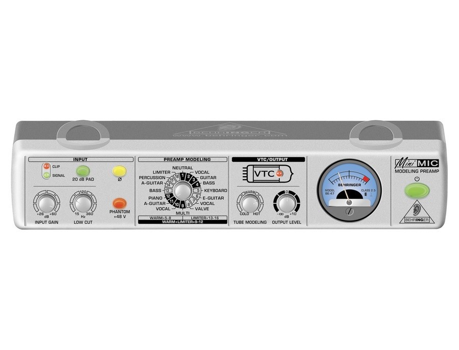 Behringer MiniMic MIC800 Microphone Modelling Amp