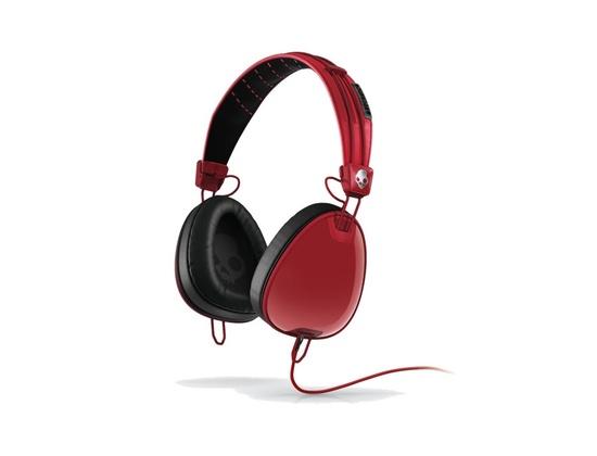 Skullcandy Aviator Red Headphones