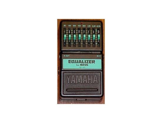 Yamaha Equalizer For Bass
