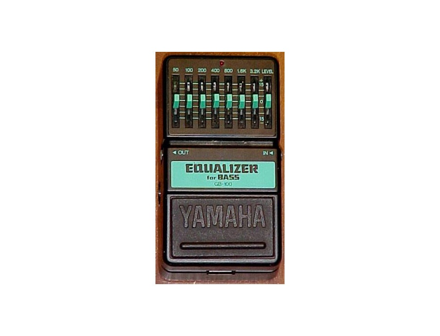 Yamaha Equalizer For Bass