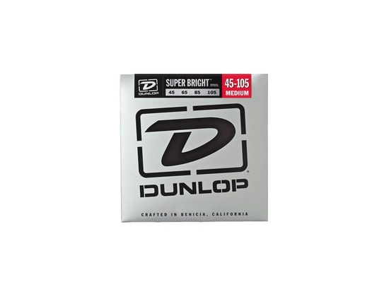 Dunlop Super Bright Bass Strings Medium