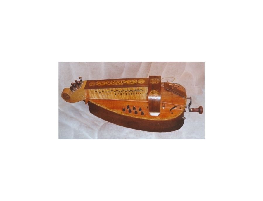 Vintage Electro-Acoustic Hurdy-Gurdy