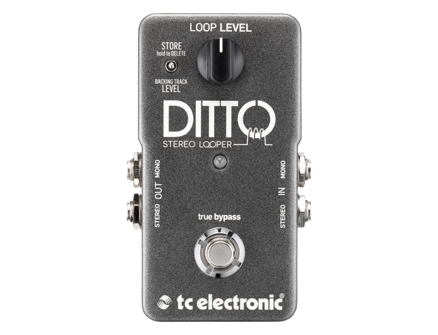 Tc electronic ditto stereo looper xl