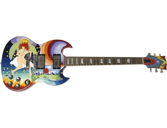 """Gibson Eric Clapton's """"The Fool"""" SG Electric Guitar"""
