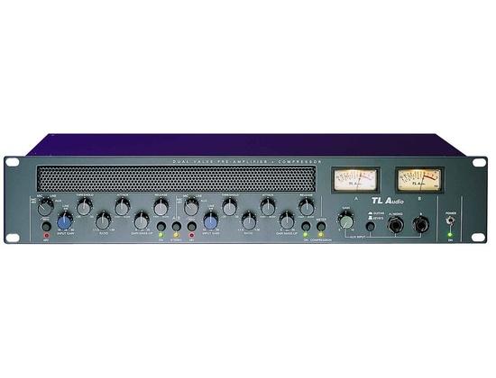 Vintage TL Audio C-1 Dual Valve Compressor