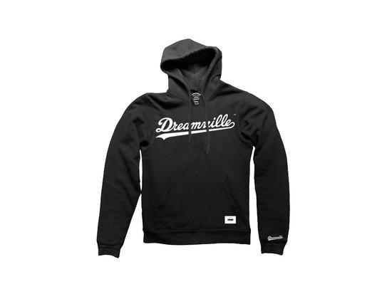 Dreamville Black Logo Pullover Hoodie