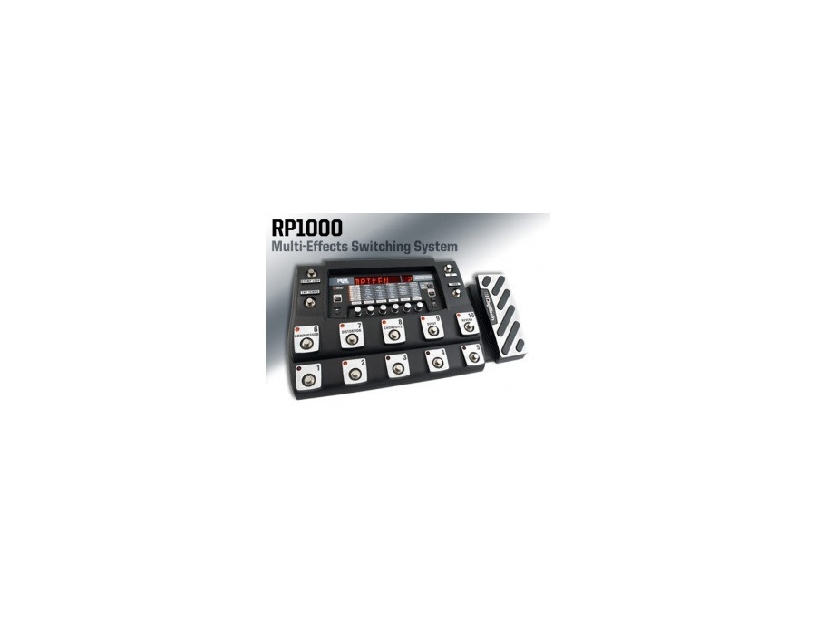 Digitech RP-1000 Integrated Effects Switching System