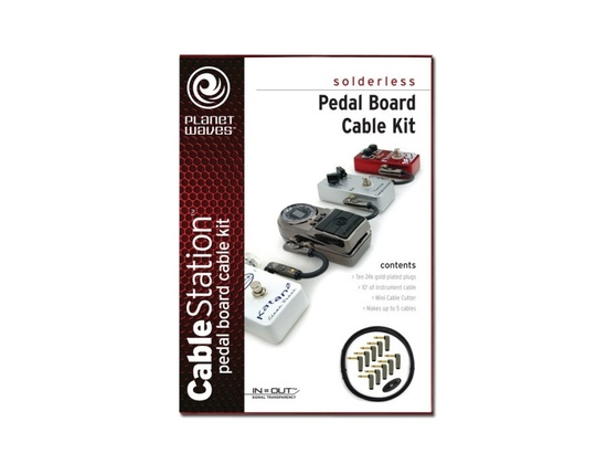 Planet Waves Cable Station Pedal Board Cable Kit