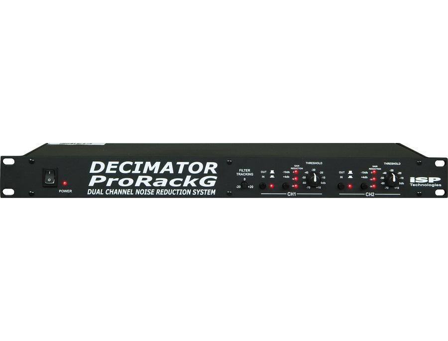 Isp technologies decimator prorack g noise reduction system xl