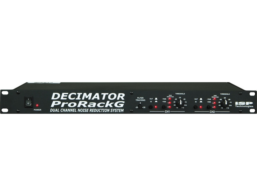 Isp technologies decimator prorack g noise reduction system xl