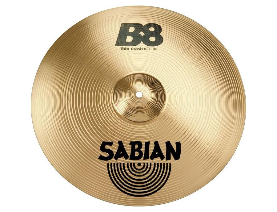 """Sabian B8 16"""" Thin Crash Cymbal"""