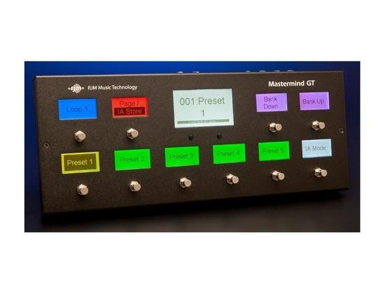 RJM Music MasterMind GT-10 Controller