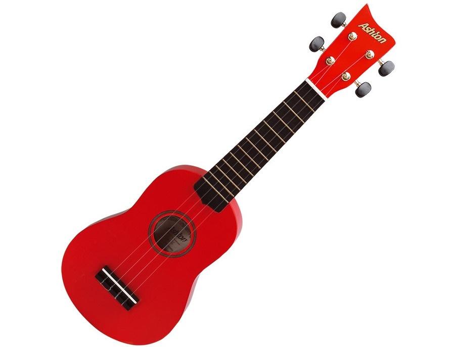 Ashton uke100 red ukulele xl