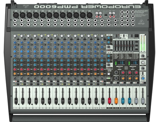 Behringer Europower PMP6000 20 Channel Powered Mixer